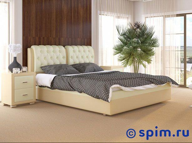 Кровать Como 5 Орматек (ткань и экокожа) 200х200 см двуспальная кровать орматек como 6