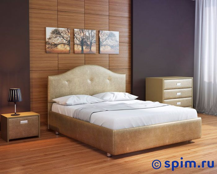 Кровать Орматек Como 7 цвета люкс и ткань 80х190 см
