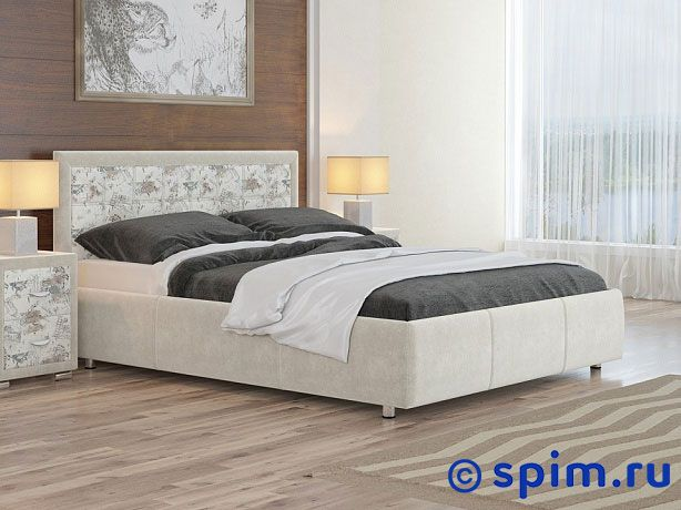 Кровать Орматек Veda 2 ткань и цвета люкс 80х190 см