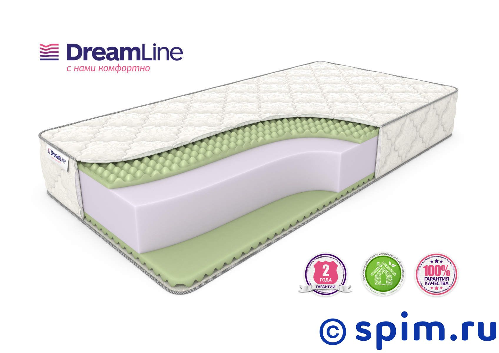 Матрас DreamLine Roll Massage Big 80х190 см