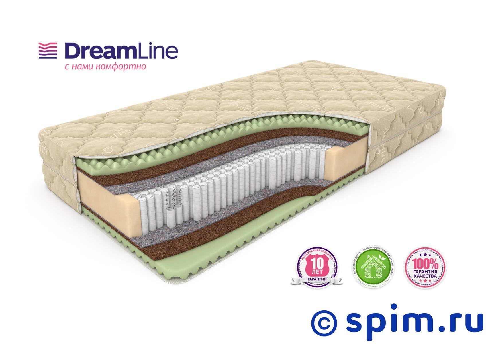 Матрас DreamLine Space Massage S2000 120х190 см матрас dreamline classic 15 hard bs 120 150x200