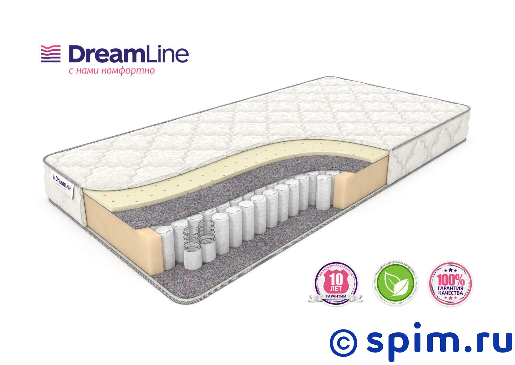 Матрас DreamLine Single Sleep 2 Tfk 200х190 см