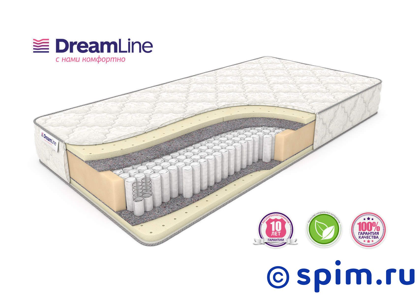 Матрас DreamLine Sleep 2 S1000 120х200 см матрас dreamline memory dream s 1000 180x190