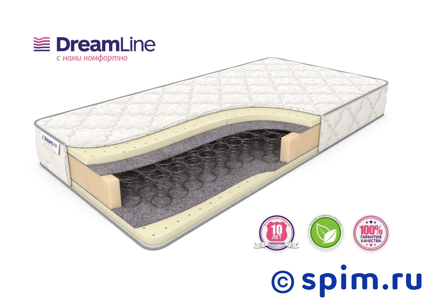 Матрас DreamLine Sleep 3 Bonnell 180х190 см матрас dreamline classic 15 hard bs 120 150x200