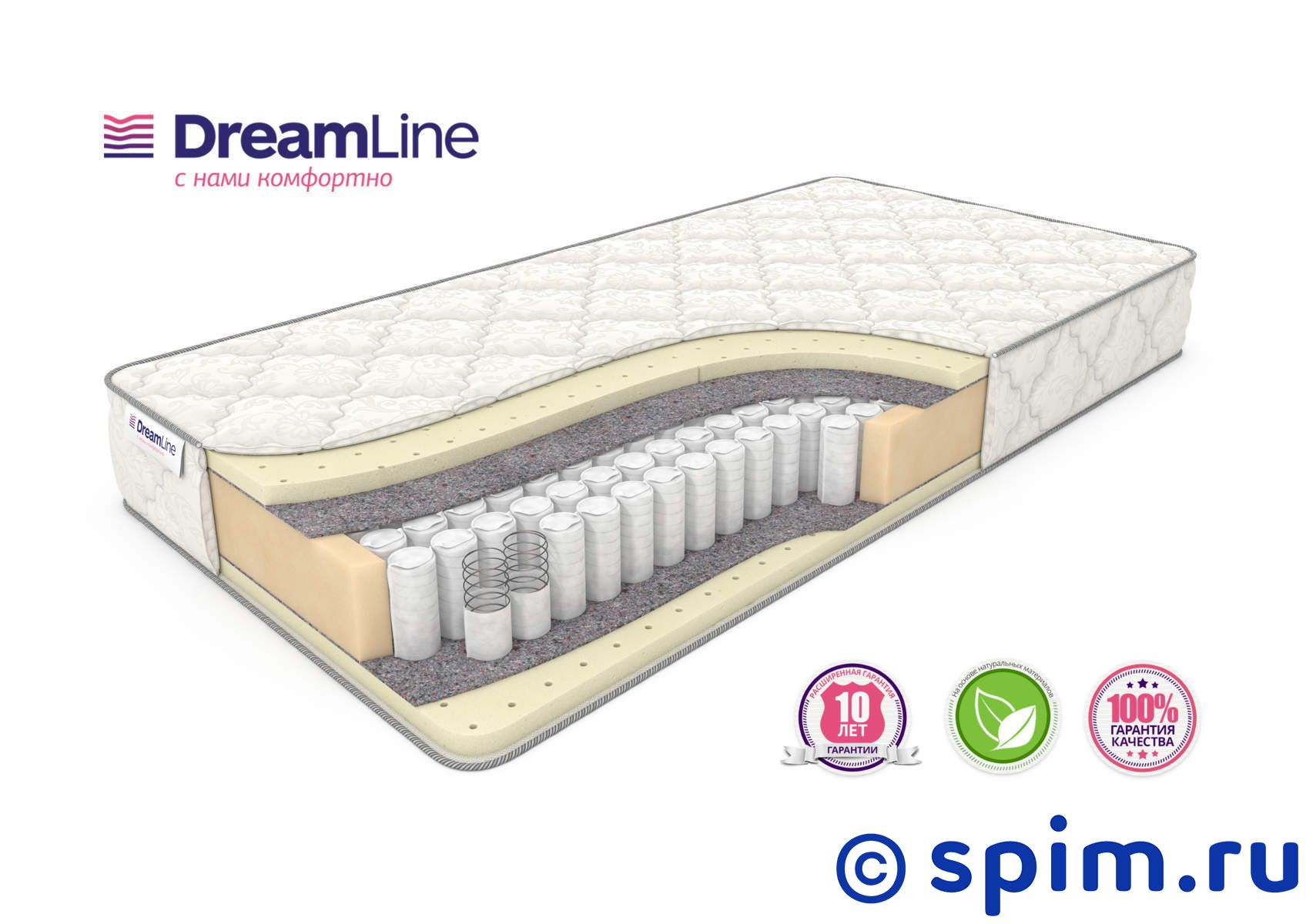Матрас DreamLine Sleep 3 Tfk 140х190 см
