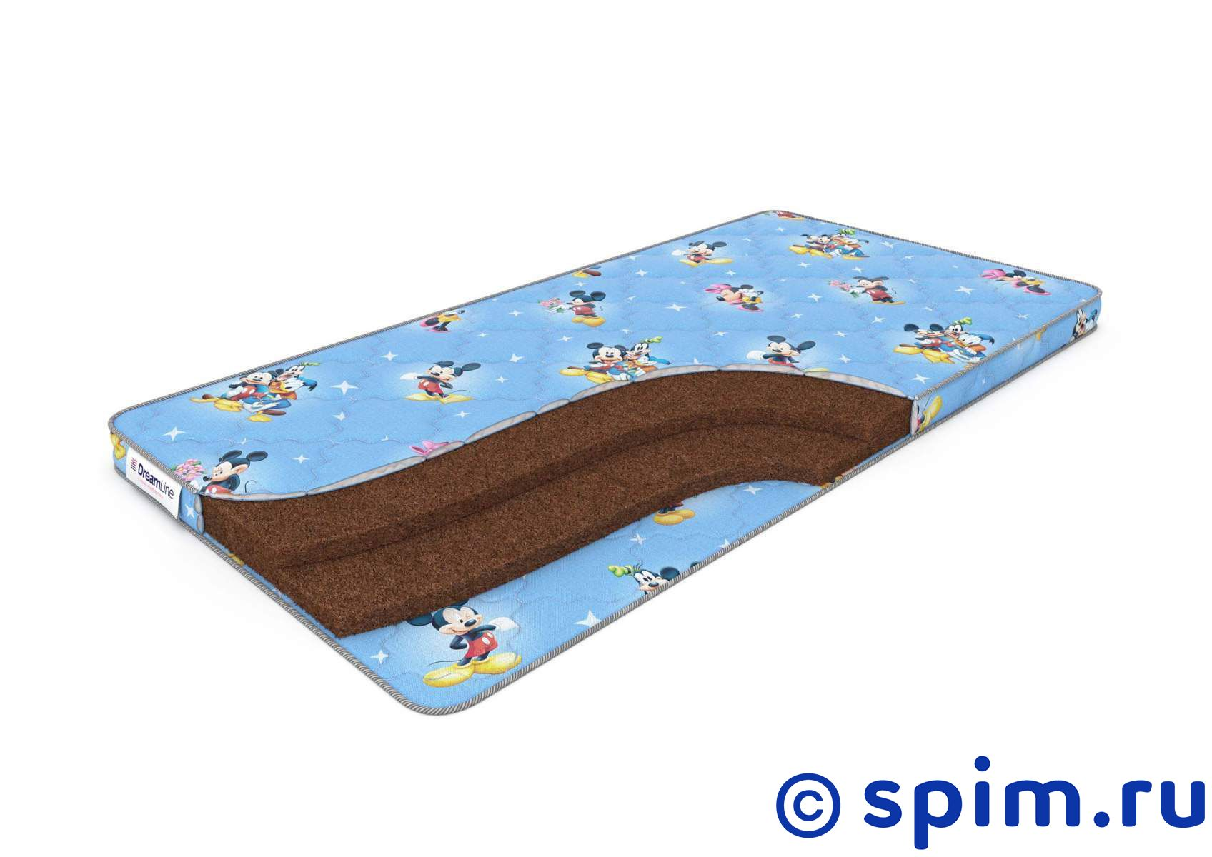 Детский матрас DreamLine BabyDream 6 80х200 см матрас dreamline springless soft slim 90х195 см
