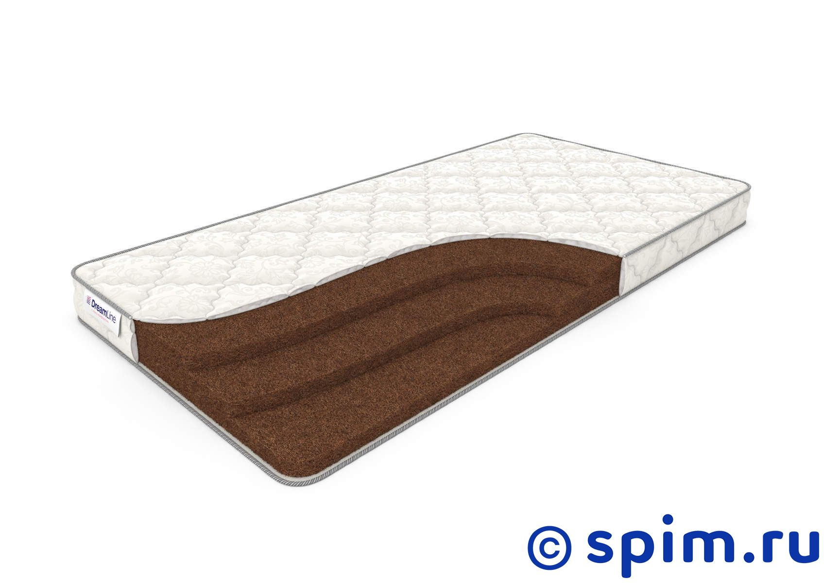Матрас DreamLine Springless Orto 9 90х195 см матрас dreamline springless soft 180х195 см