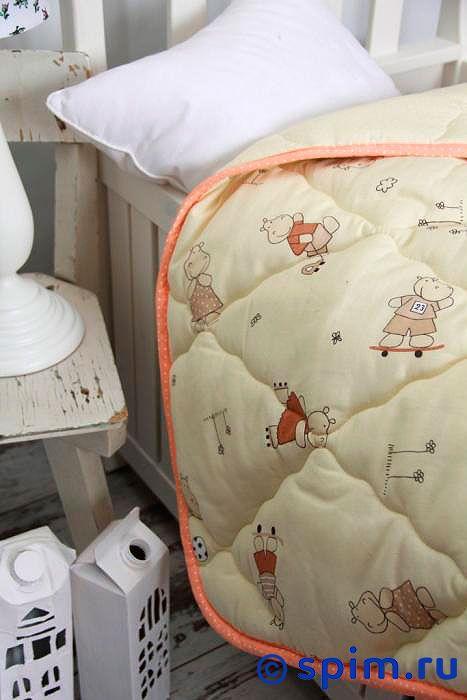 Одеяло Altro Kids Тоша и Моша 150х200 см, желтое