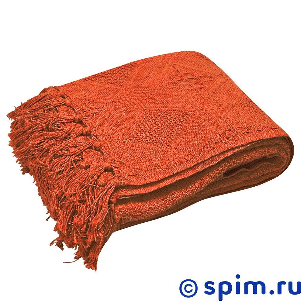 Плед Arloni Кокос, терракот 130х160 см