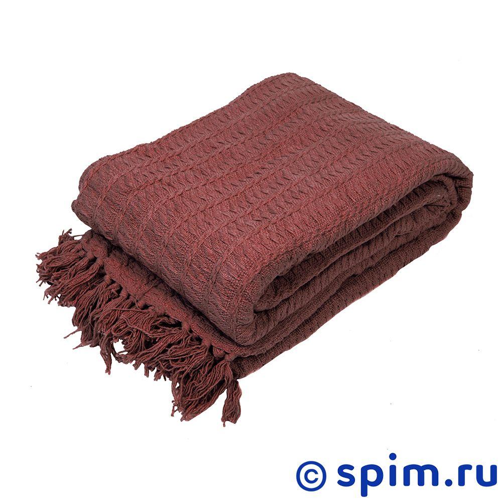 Покрывало Arloni Кантри, коричневый 160х220 см покрывало arloni финляндия скай 160х220 см 2048