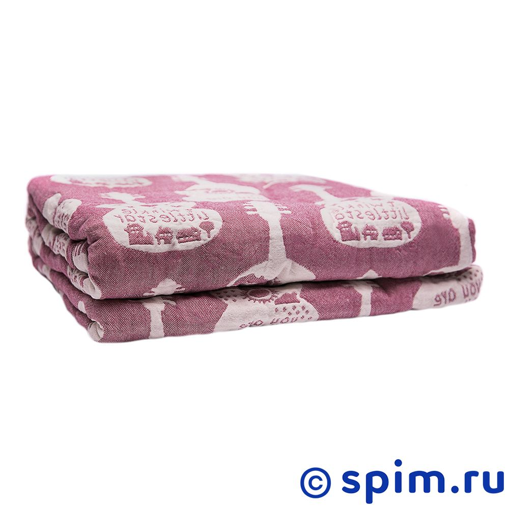 Покрывало Arloni Гитара, розовый 145х200 см