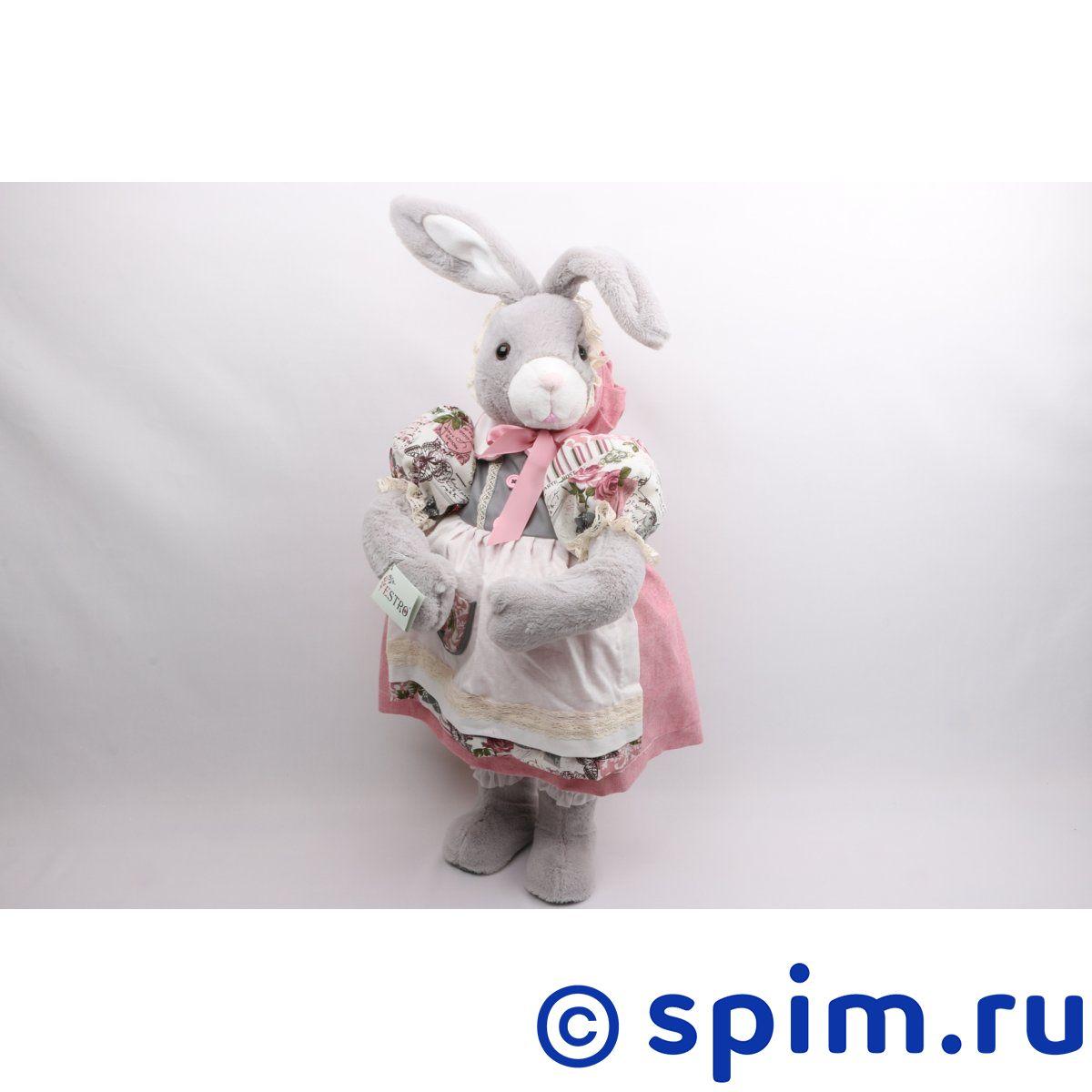 Интерьерная кукла Зайчонок C21-288048 мягкие игрушки estro совёнк подмигивающий