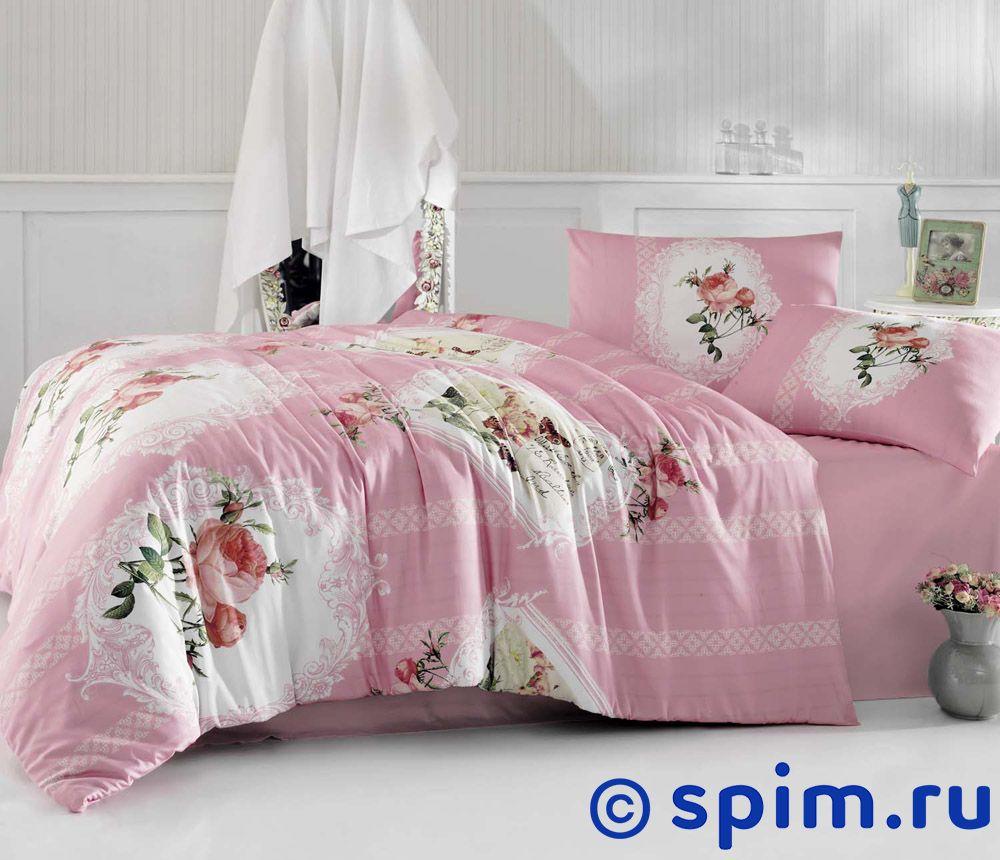 Постельное белье Altinbasak Ulya, розовый 1.5 спальное