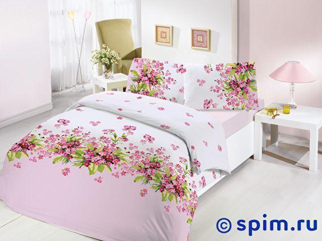 Постельное белье Altinbasak Sumbul, розовый Евро-стандарт