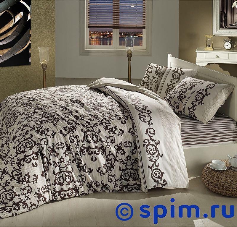 Постельное белье Altinbasak Suave, коричневый 1.5 спальное