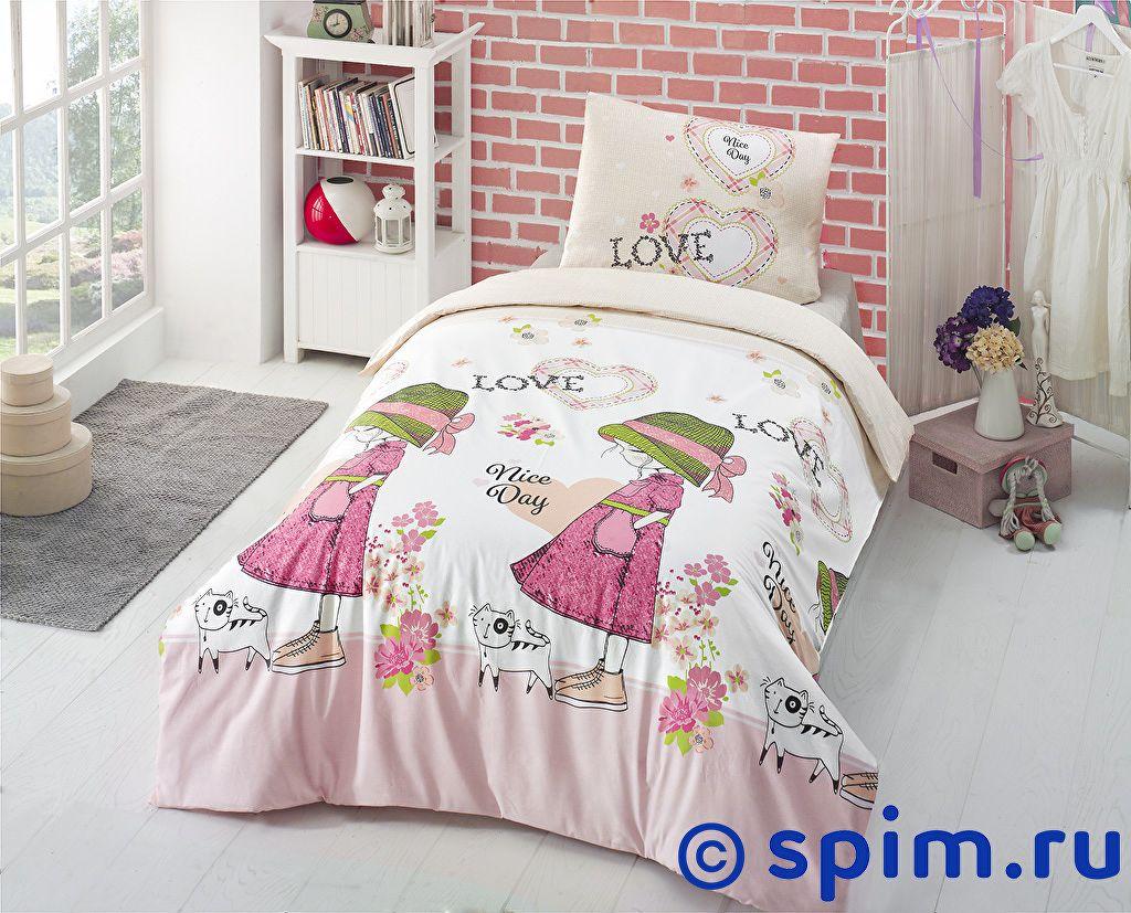 Купить Постельное белье Altinbasak V Nice Day, розовый 1.5 спальное