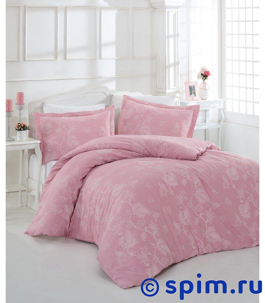 Постельное белье Altinbasak Sehrazat, грязно-розовый Евро-стандарт