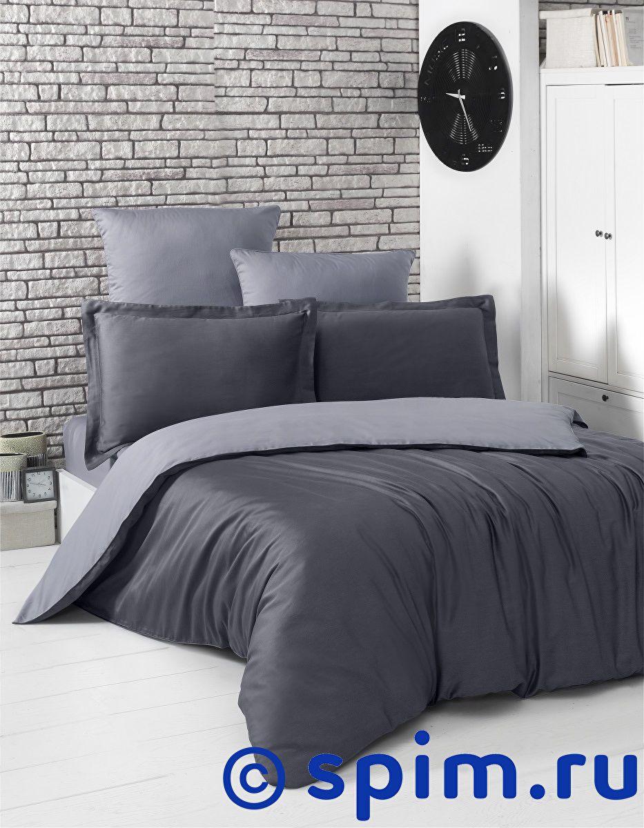 Купить Постельное белье Karna Loft темно-серый, серый 1.5 спальное