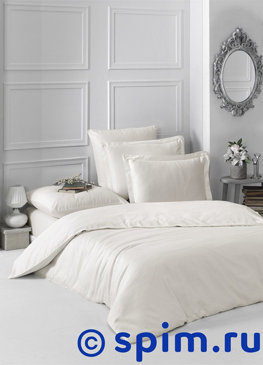 Купить Постельное белье Karna Loft экрю 1.5 спальное