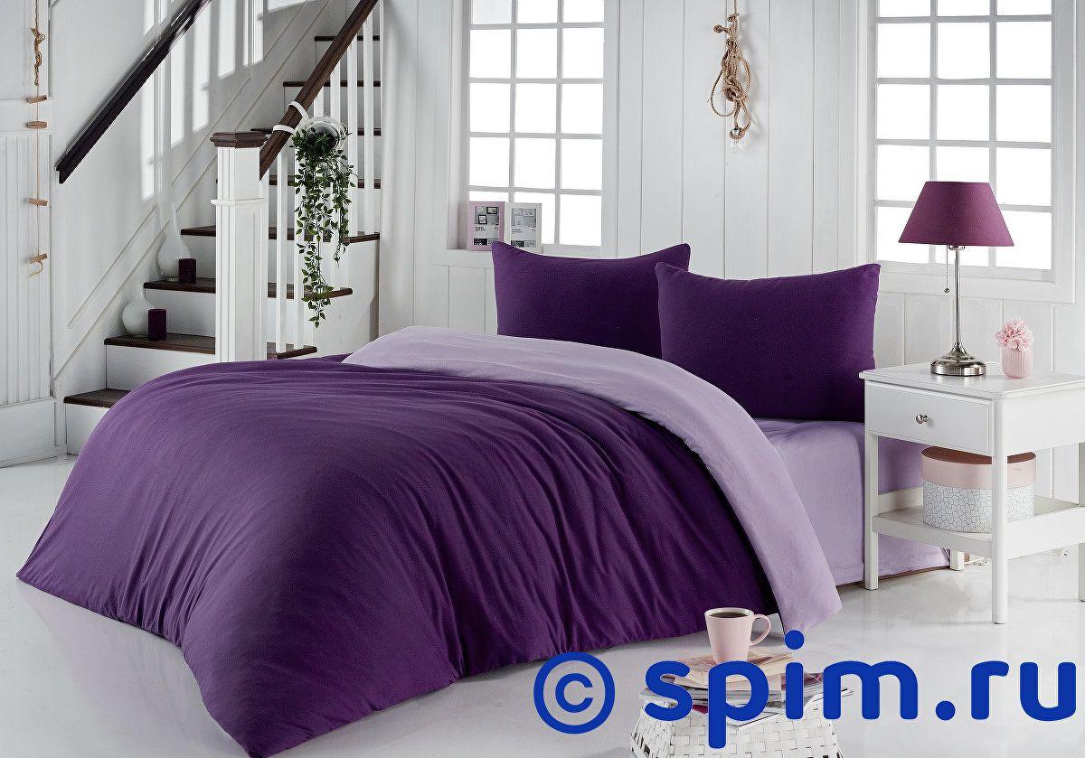 Купить Постельное белье Karna Sofa фиолетовый, светло-лаванда Евро-стандарт