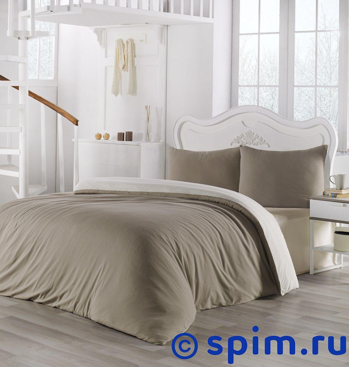 Купить Постельное белье Karna Sofa бежевый-кремовый Евро-стандарт