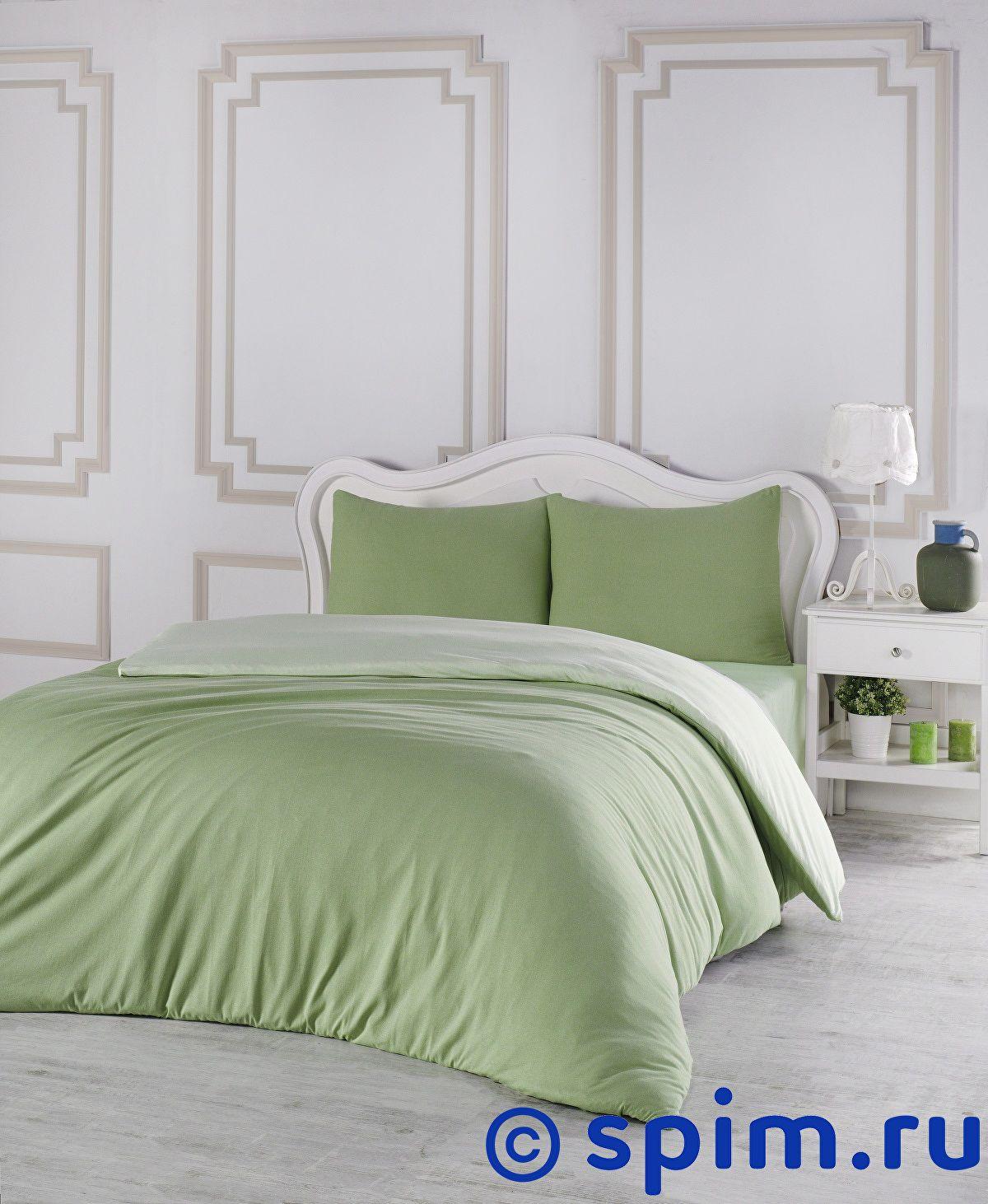 Купить Постельное белье Karna Sofa зеленый, светло-зеленый Евро-стандарт