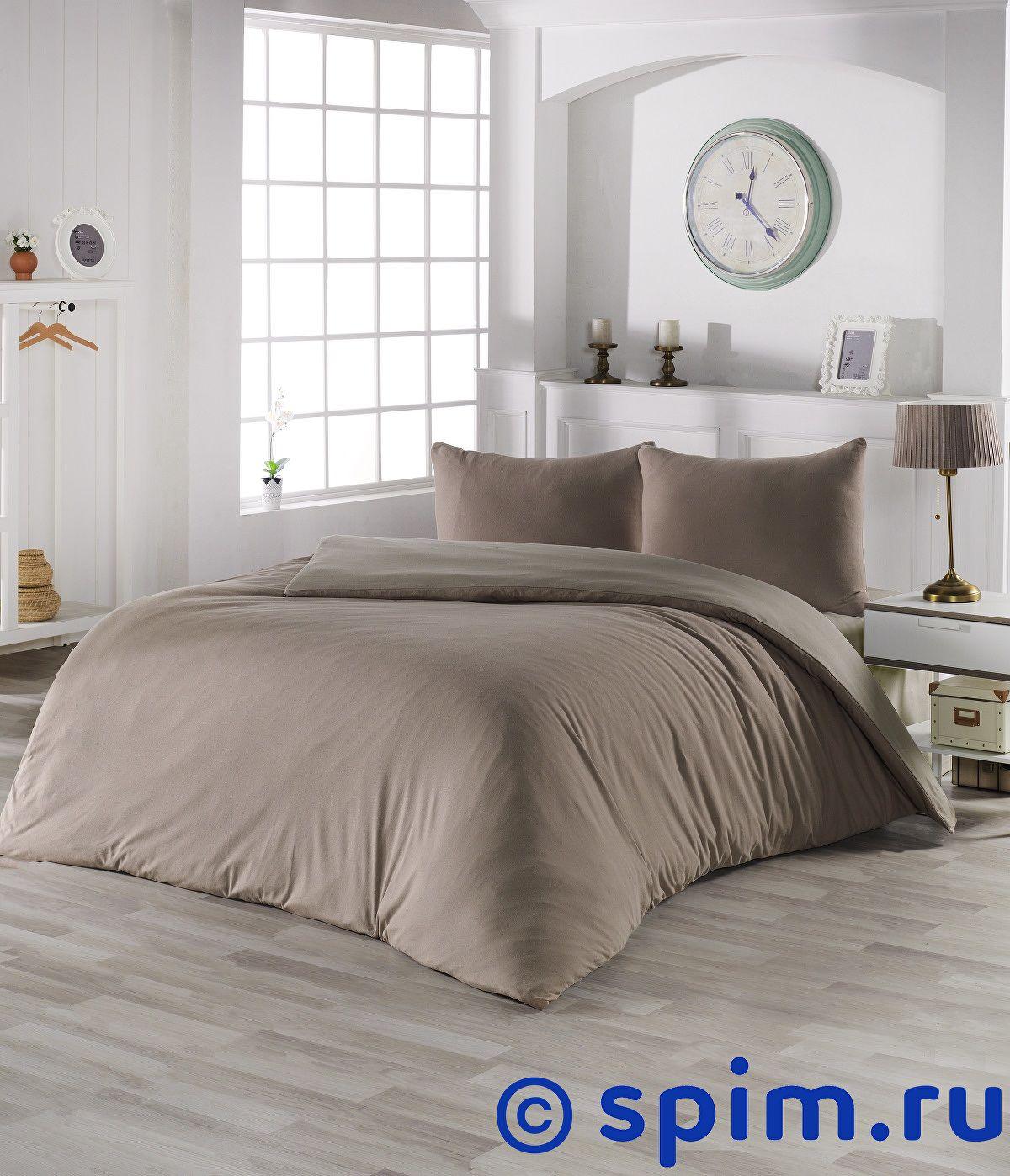 Купить Постельное белье Karna Sofa кофейный-бежевый Евро-стандарт