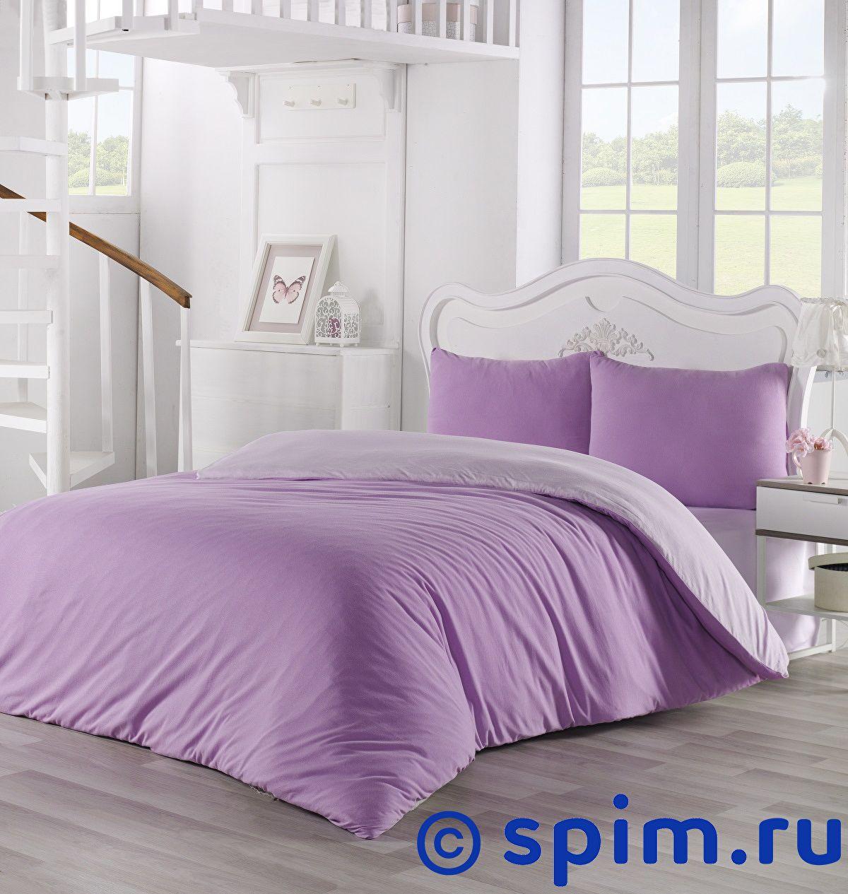 Купить Постельное белье Karna Sofa светло-лаванда, сиреневый Евро-стандарт
