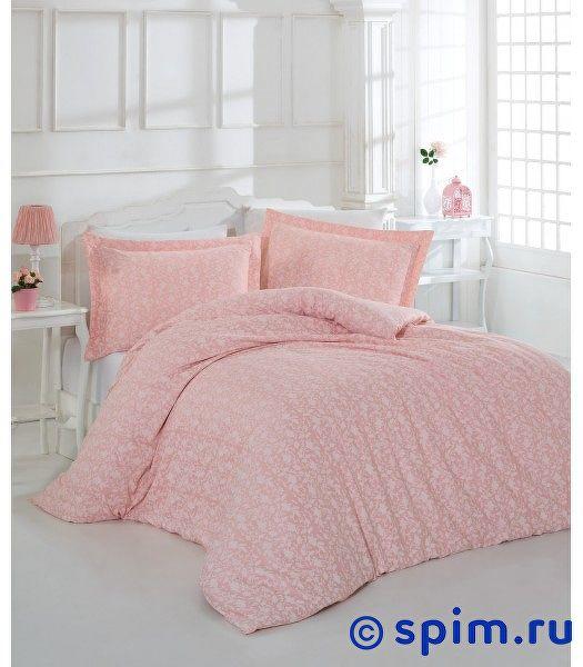Постельное белье Altinbasak Pretty, розовый Евро-стандарт
