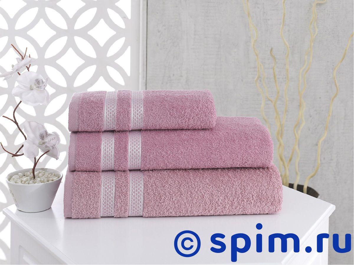 Полотенце Karna Petek 100х150 см, грязно-розовое