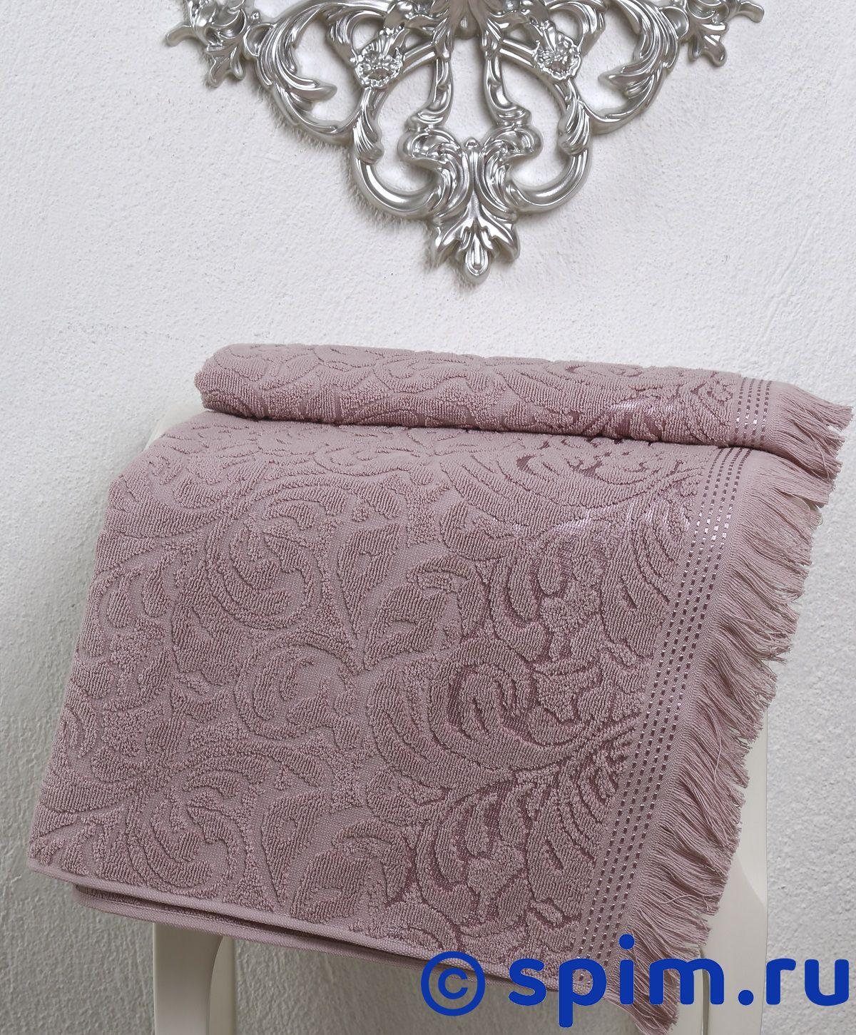 Полотенце Karna Esra 70х140 см, грязно-розовое комплект махровых полотенец karna esra 50x90 70х140 см 1158865