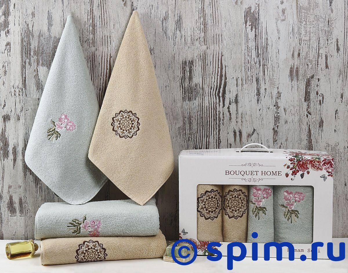 Комплект полотенец Karna Bouquet Home, V5 roberto verino gold bouquet