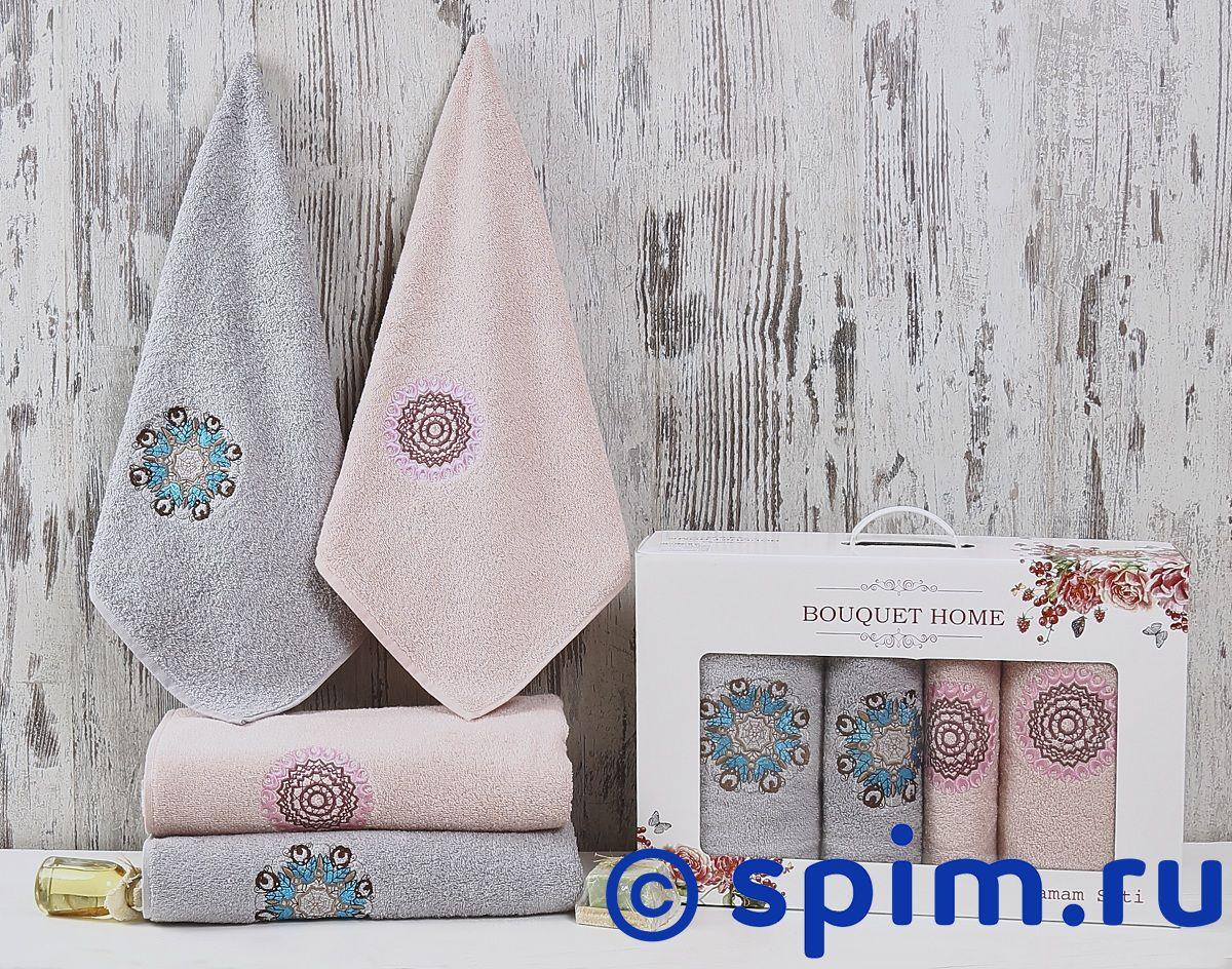 Комплект полотенец Karna Bouquet Home, V4