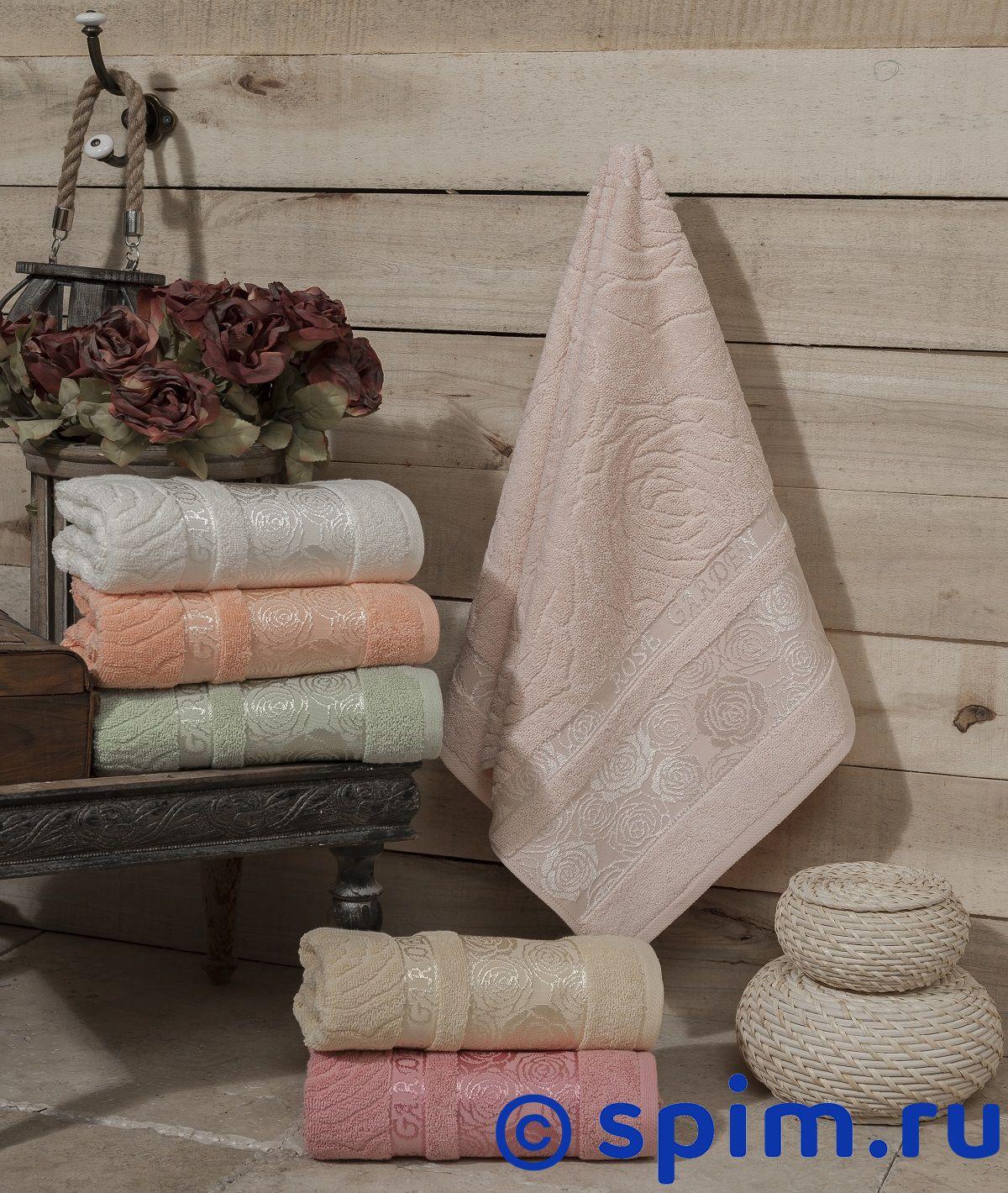 Набор полотенец Karna Rose Garden 50х90 см фиолетовый kvadrro м 50х90 70х130 в коробке набор полотенец фиеста