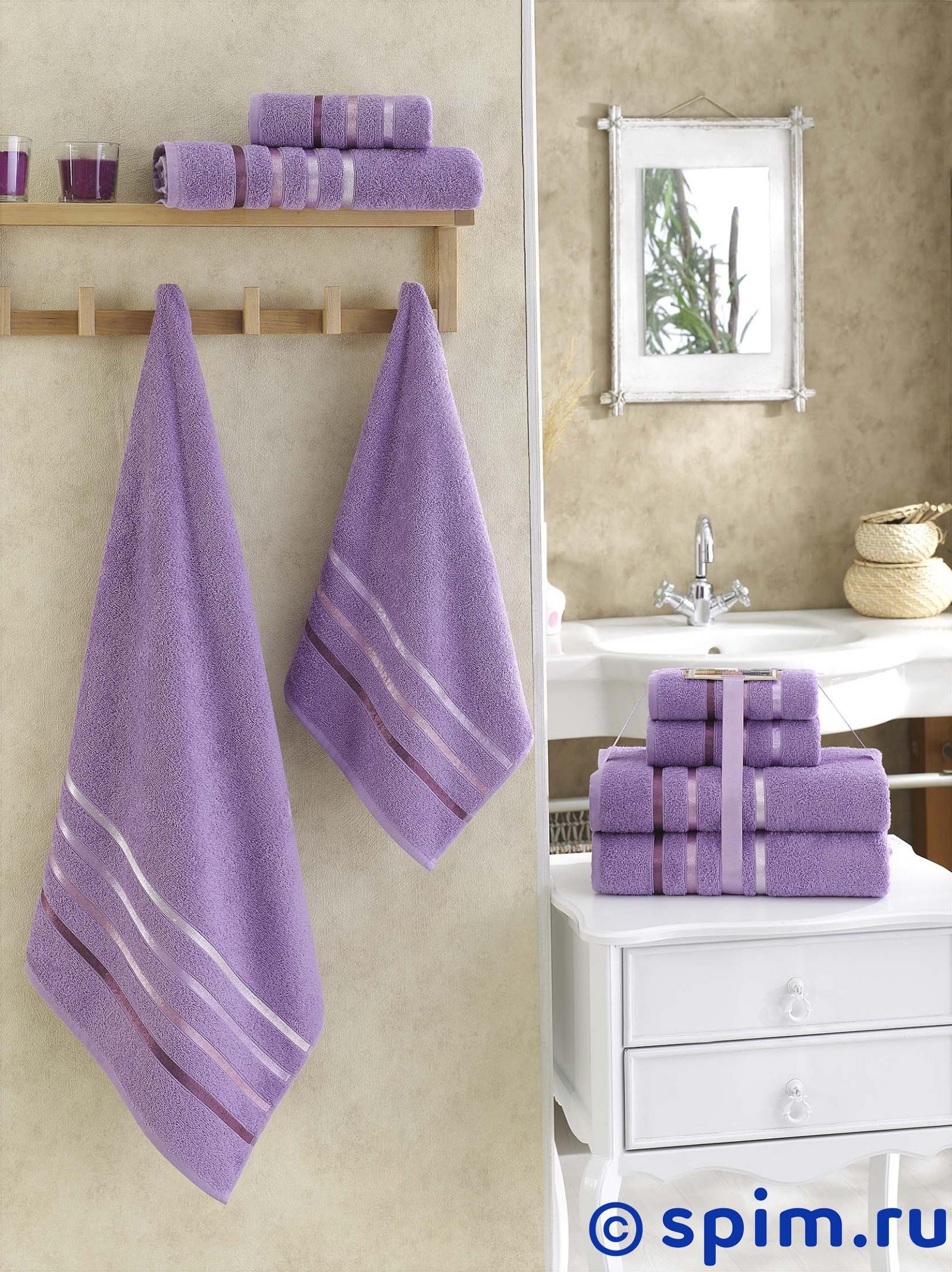 Комплект полотенец Karna Bale, сиреневый