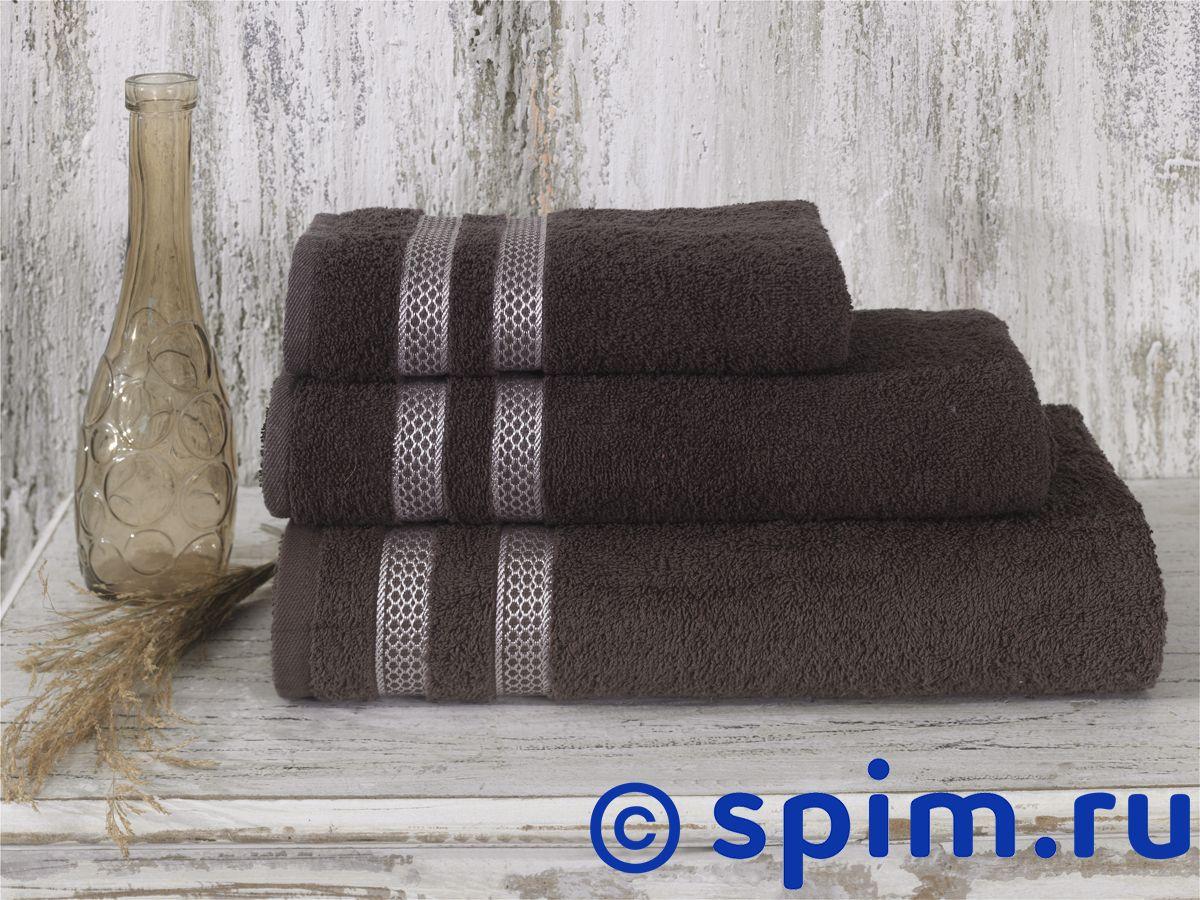 Полотенце Karna Petek 50х100 см, коричневое