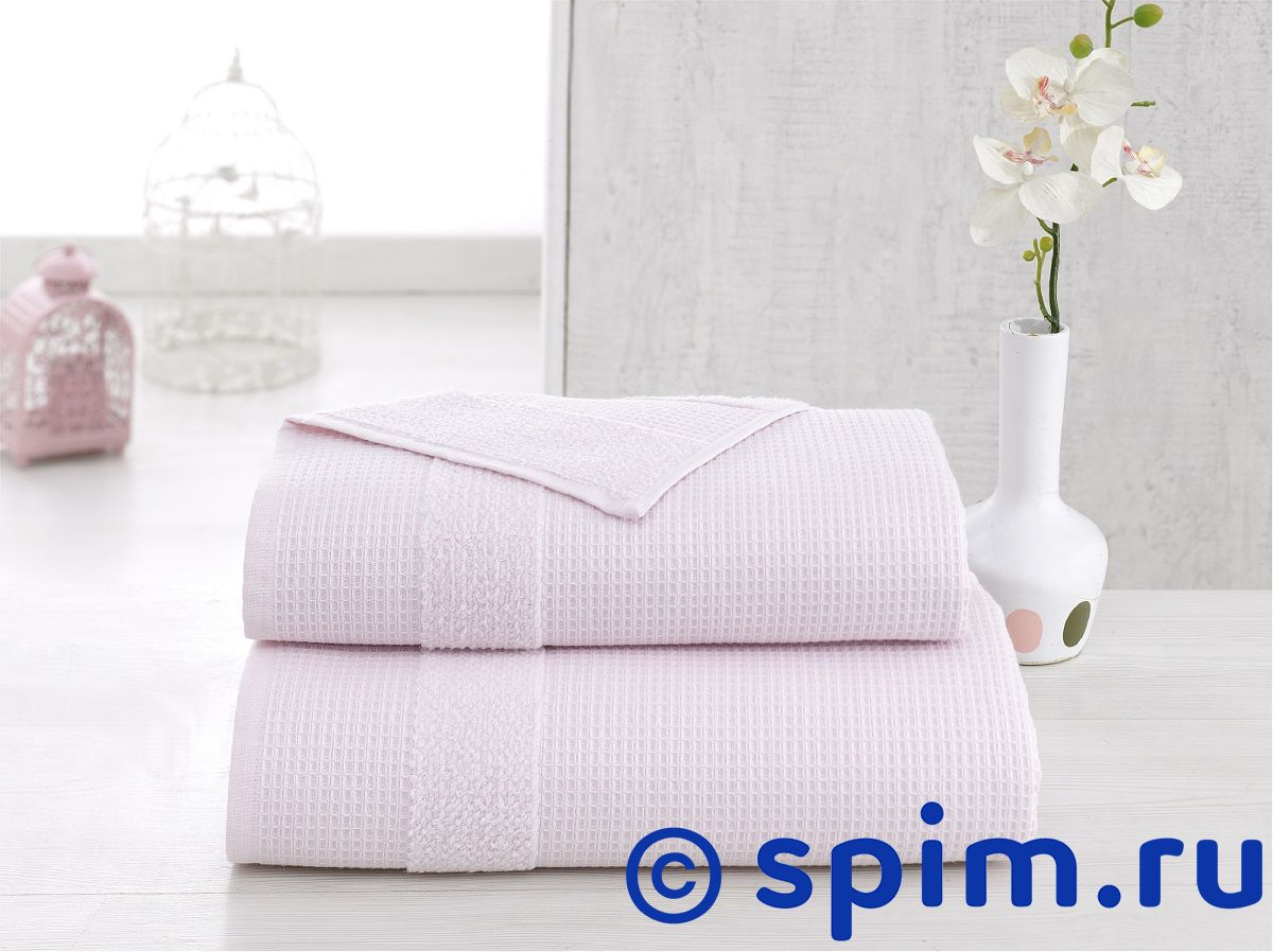 Полотенце Karna Truva 70х140 см, светло-розовое