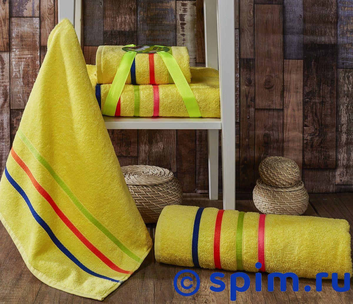 Комплект полотенец Karna Bale Neon, желтый арт. 967/char003