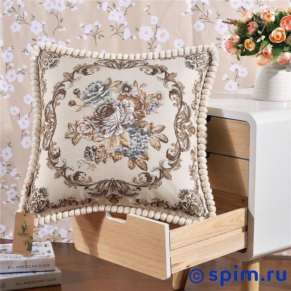 Декоративная наволочка Kazanov.a. Гобелен Венетто, бежевый