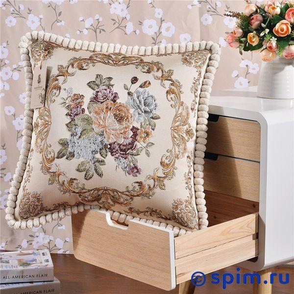Декоративная наволочка Kazanov.a. Гобелен Венетто, золото