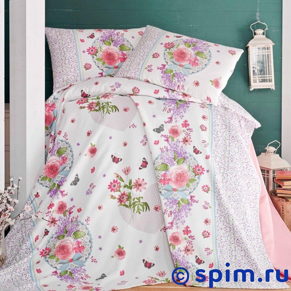 Постельное белье Evim EV-06 с простыней для укрывания Евро-стандарт постельное белье evim ev 12 с простыней для укрывания евро стандарт