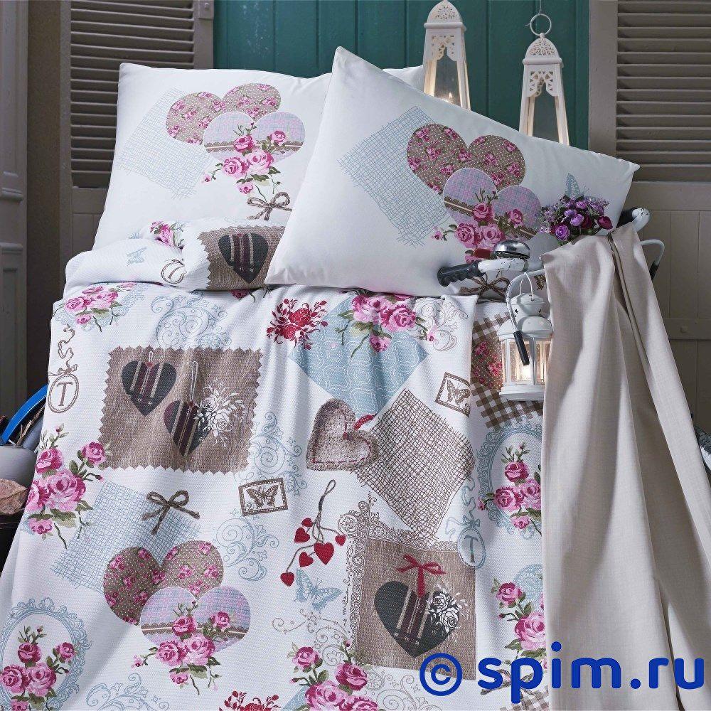 Постельное белье Evim EV-11 с простыней для укрывания Евро-стандарт постельное белье evim ev 12 с простыней для укрывания евро стандарт