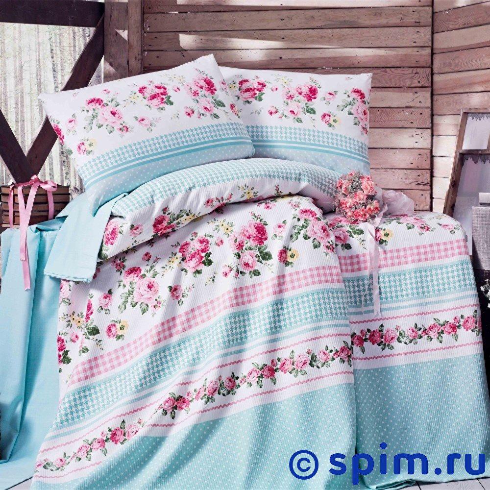 Постельное белье Evim EV-16 с простыней для укрывания Евро-стандарт постельное белье evim ev 12 с простыней для укрывания евро стандарт