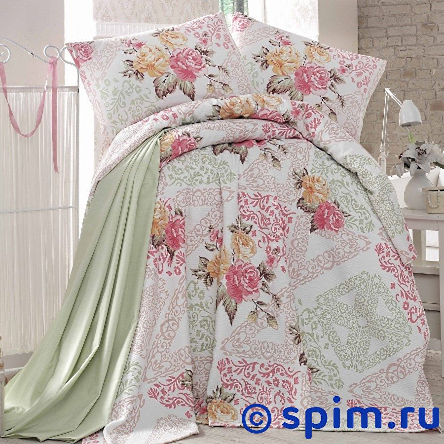 Постельное белье Evim EV-21 с простыней для укрывания Евро-стандарт постельное белье evim ev 12 с простыней для укрывания евро стандарт