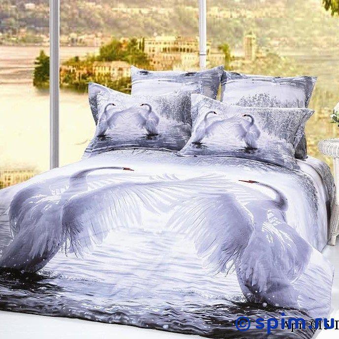 Постельное белье Diva Afrodita Premium-3D PR-015 Двуспальное постельное белье diva afrodita premium 3d pr 359 двуспальное