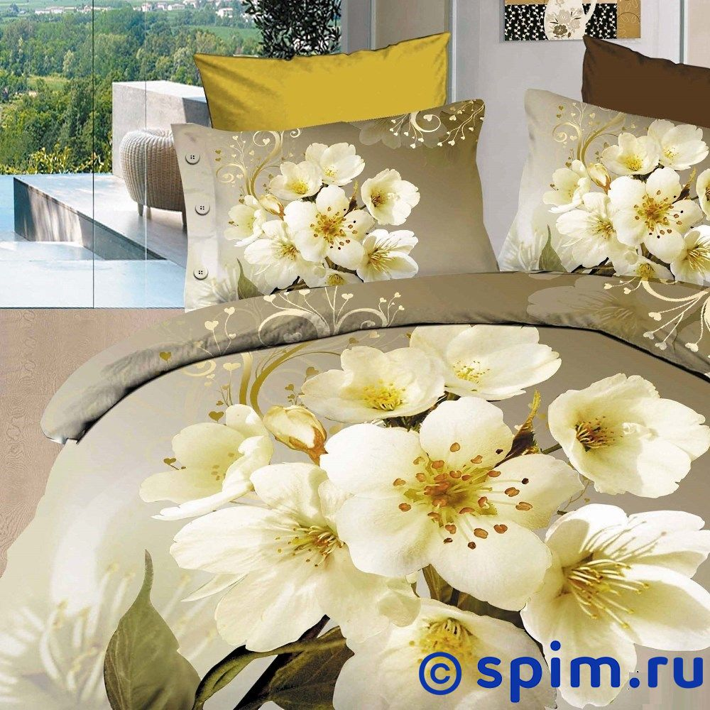 Постельное белье Diva Afrodita Premium-3D PR-294 Двуспальное постельное белье diva afrodita premium 3d pr 027 двуспальное