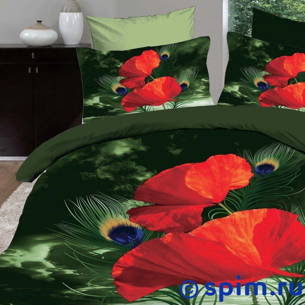 Постельное белье Diva Afrodita Premium-3D PR-345 Евро-стандарт