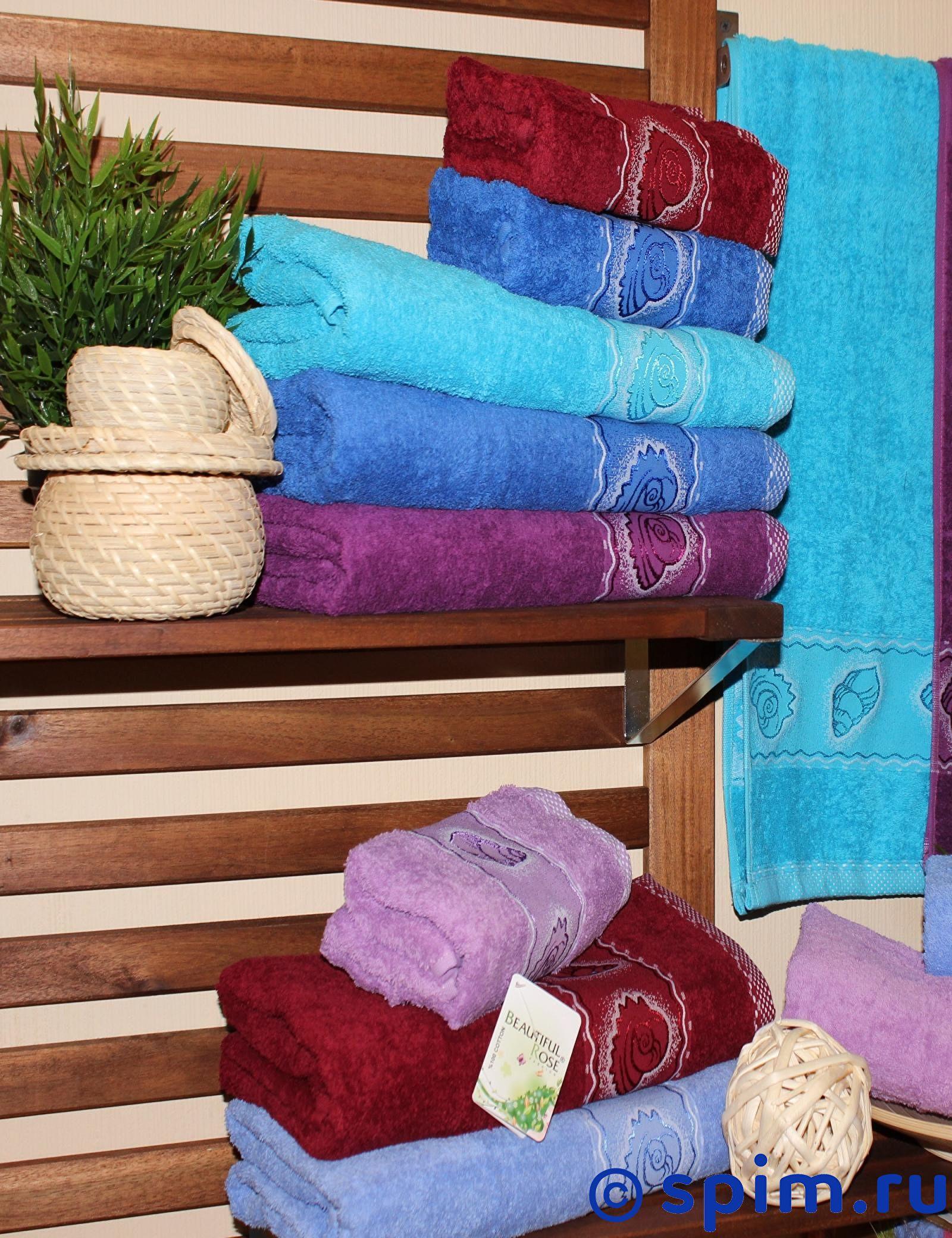 Набор из 6-ти полотенец Rose Ракушка 50х90 см 50х90 см сирень classik б 50х90 70х130 в коробке набор полотенец фиеста