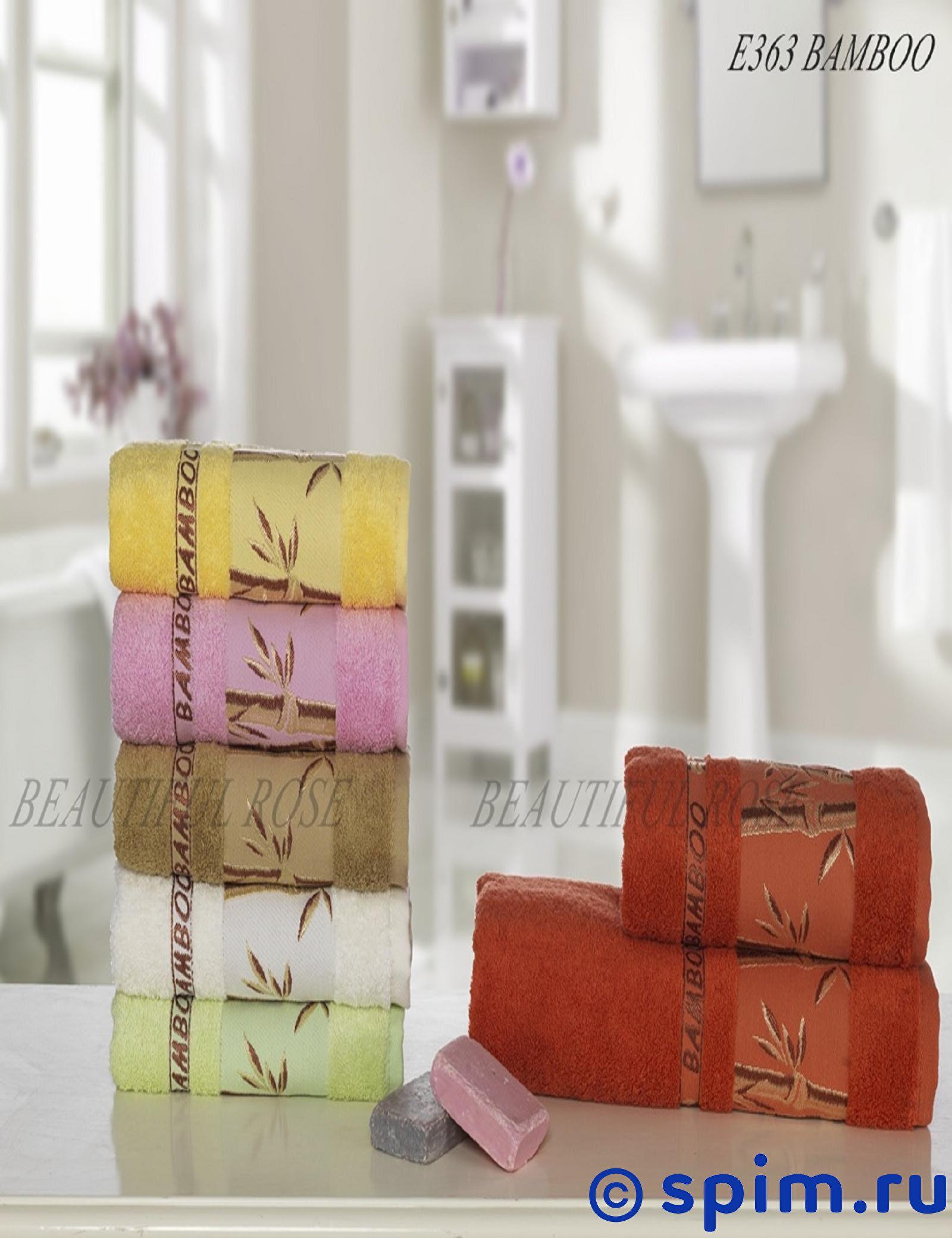 Полотенце Rose Бамбук E363 70х140 см (6 шт.) 70х140 см полотенце кухонное бамбук 40х60см клетка жакк в ассортименте 30% хлопок 70% бамбук