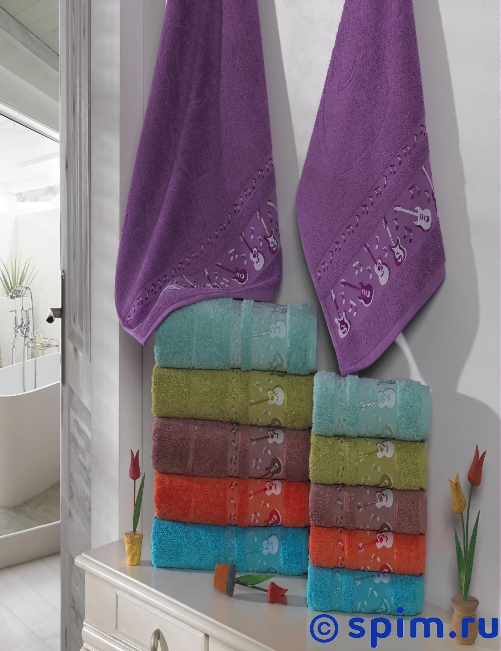 Набор из 6-ти полотенец Rose Gitar 50х90 см 50х90 см сирень classik б 50х90 70х130 в коробке набор полотенец фиеста